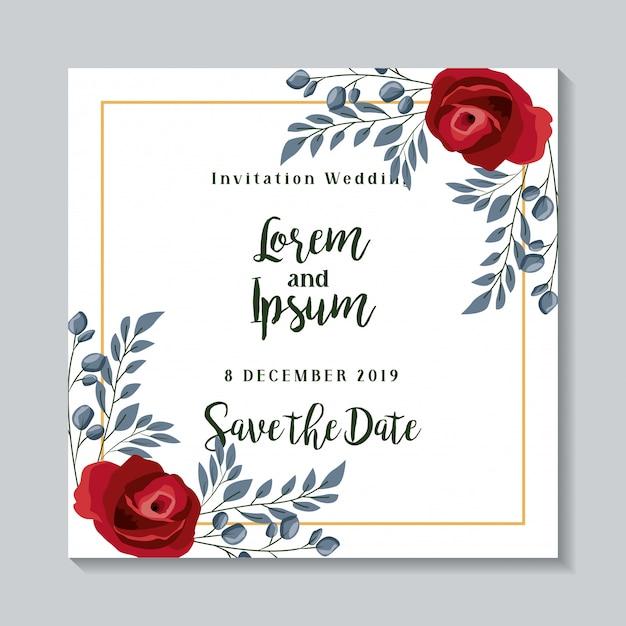 blank invitation card design free download