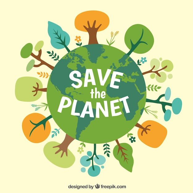 write a poster on environment protection