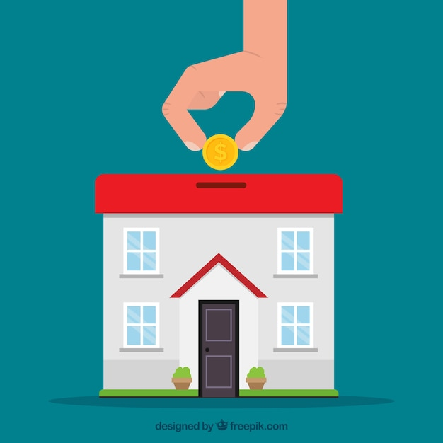 Saving for a house vector free download for How to save for a house in 1 year