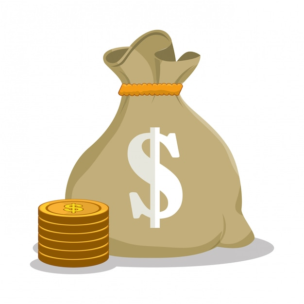 Savings and money concept Free Vector