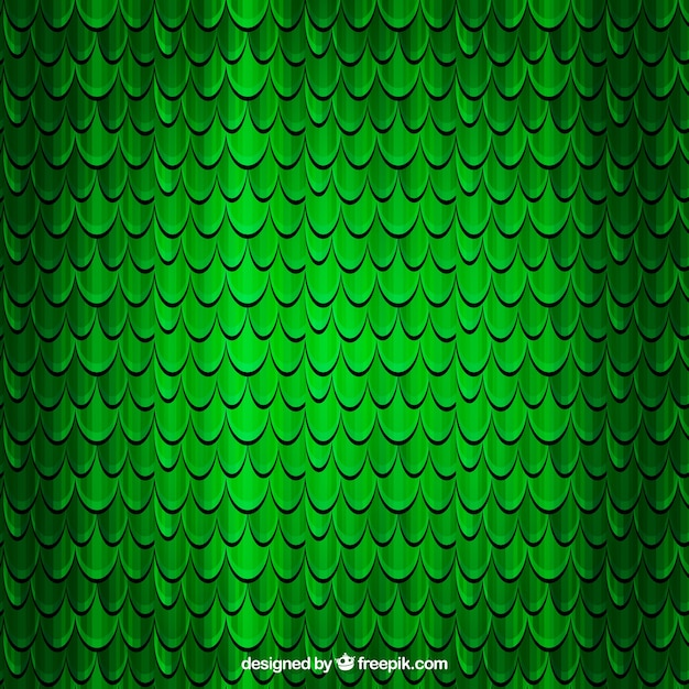 Scales of a reptile background Free Vector