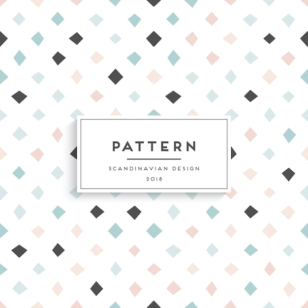 Scandinavian seamless pattern Free Vector