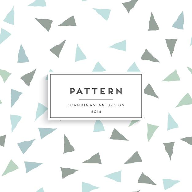 Scandinavian seamless pattern Free Vector