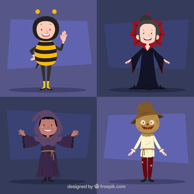 scary halloween costumes free vector - Free Scary Halloween Images