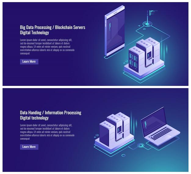 Схема топологии сети, обновление данных, клон файловой структуры, резервная копия облака Бесплатные векторы