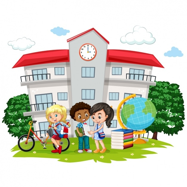 free school clipart backgrounds - photo #47