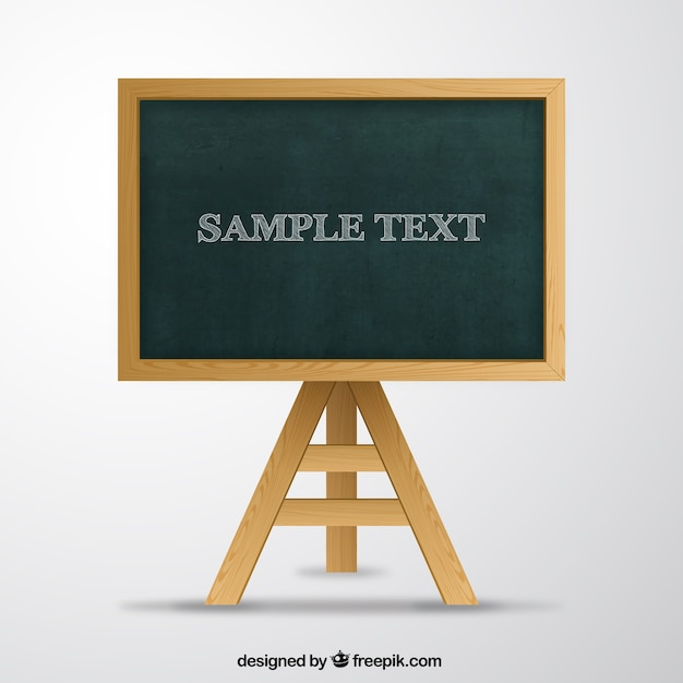 school blackboard vector free download