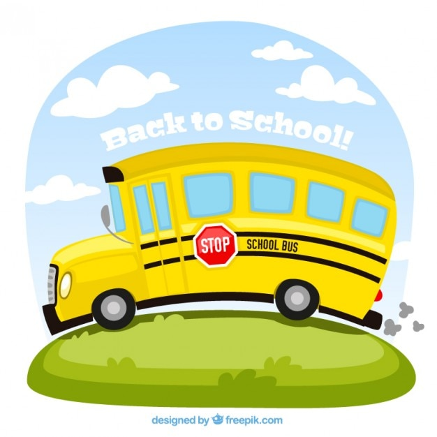 school bus illustration vector free download school bus clip art free clipart school bus