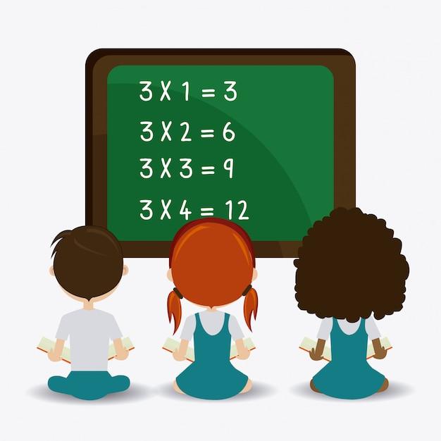 School design. Premium Vector