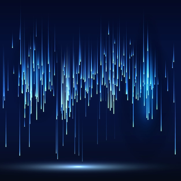 Sci-fi abstract matrix futuristic technology background Premium Vector