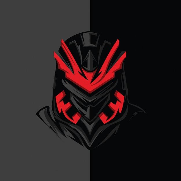 Sci-fi ninja Premium Vector