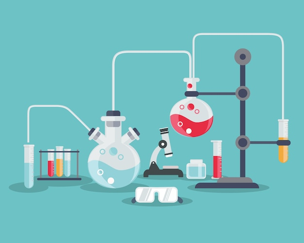science background design vector free download