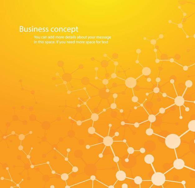 Science background , molecule background Premium Vector