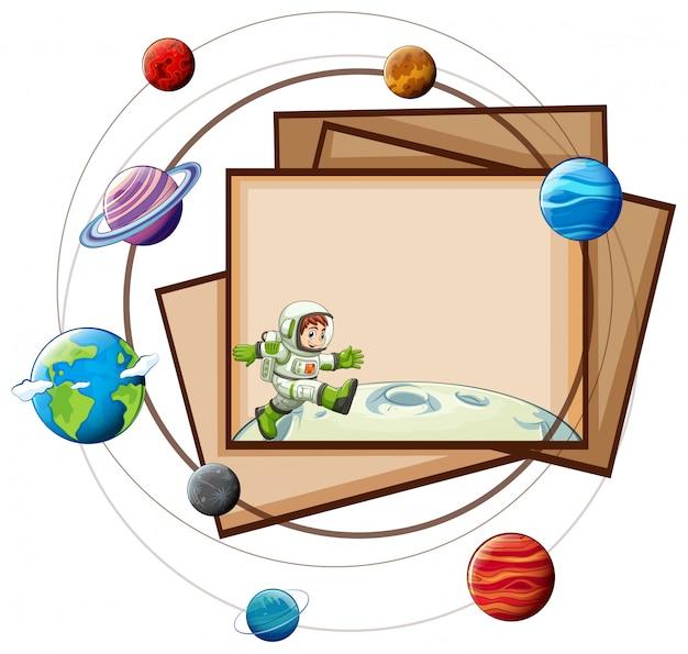 Carte scienza Vettore gratuito