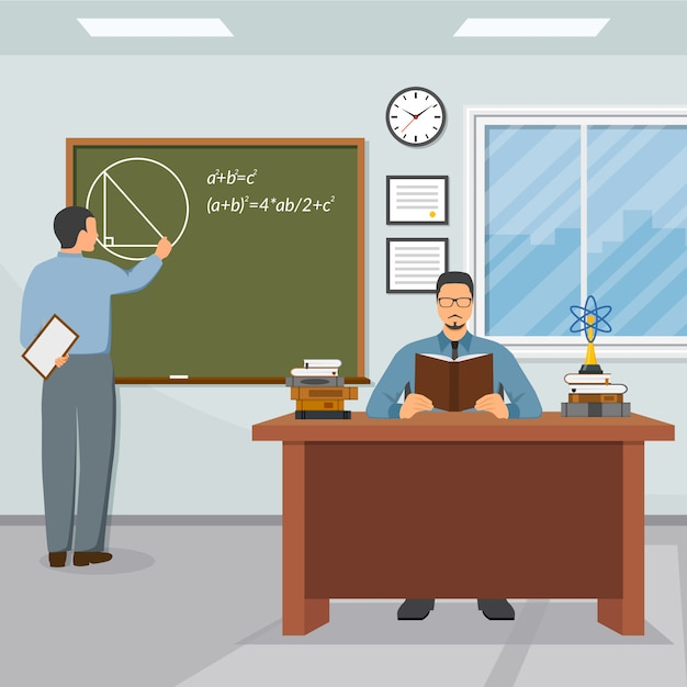 Science and education illustration Free Vector