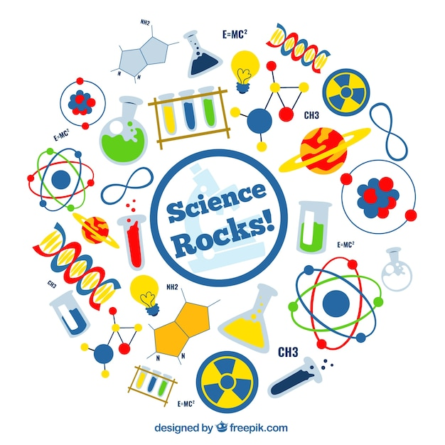 science rocks vector free download