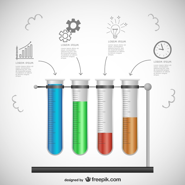 Science template Vector | Free Download