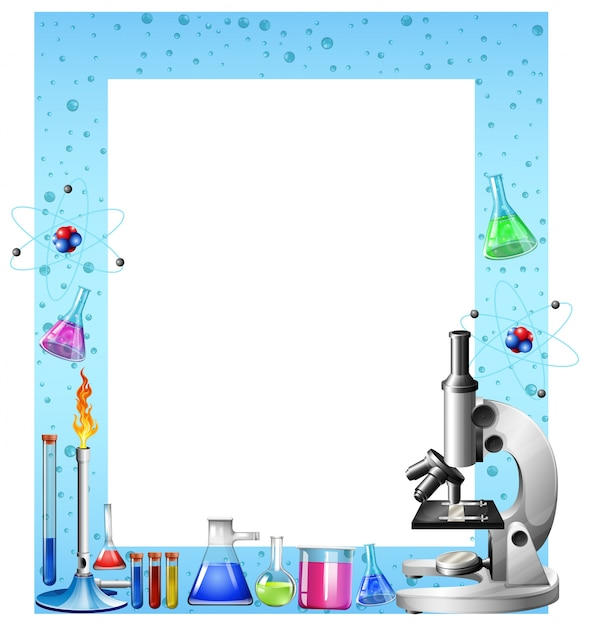 Science tools and containers Vector | Premium Download