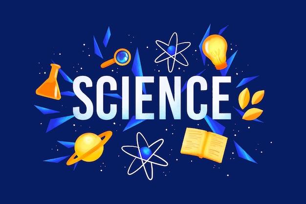 Science word design | Free Vector