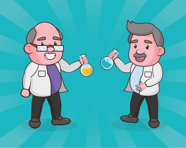 Scientific laboratory science Free Vector