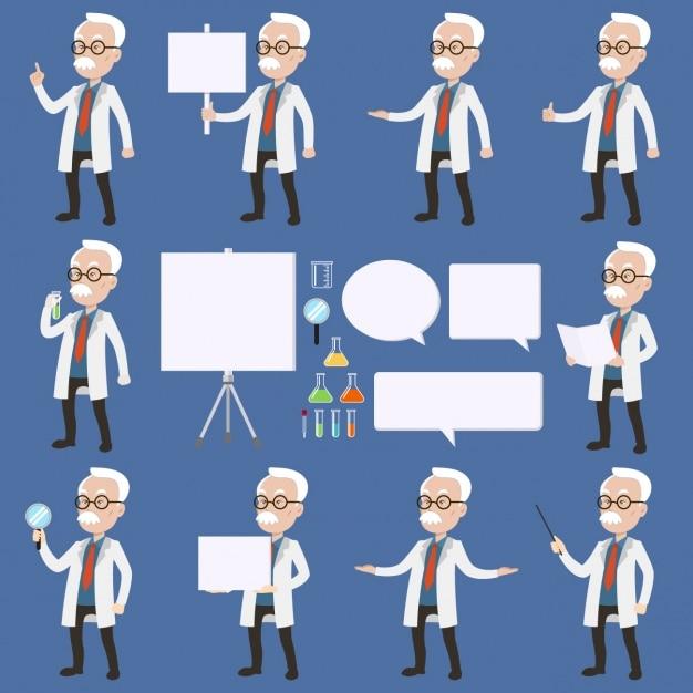 scientist vector picker scientist vector picker
