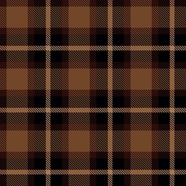 Scottish cell fabric Premium Vector
