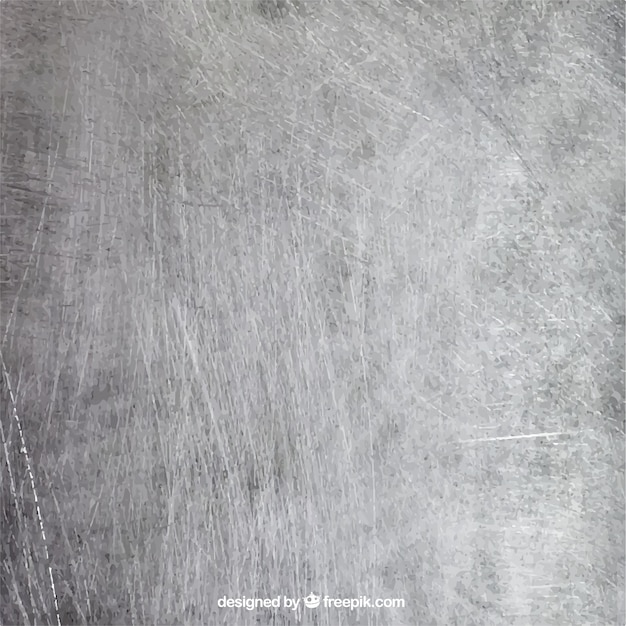Scratched metal background Free Vector