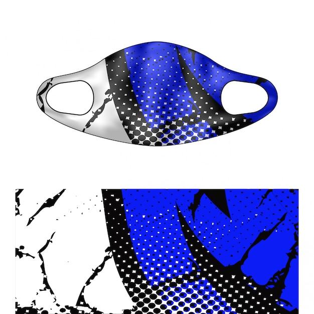 Scuba masker illustration Premium Vector