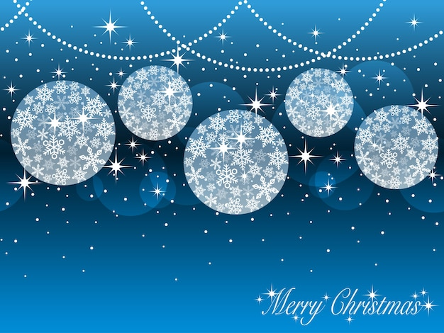 Seamless Abstract Background With Christmas Ball Ornaments Premium Vector