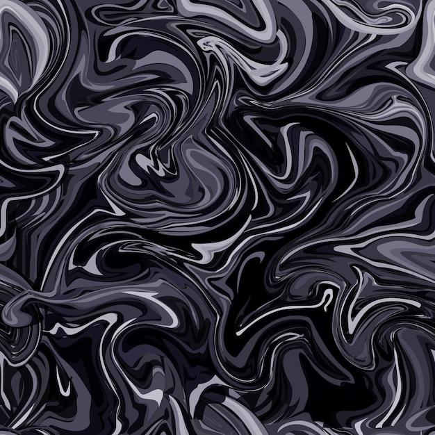 원활한 추상 대리석 패턴, 나무 질감, 수채화 대리석 패턴. 프리미엄 벡터
