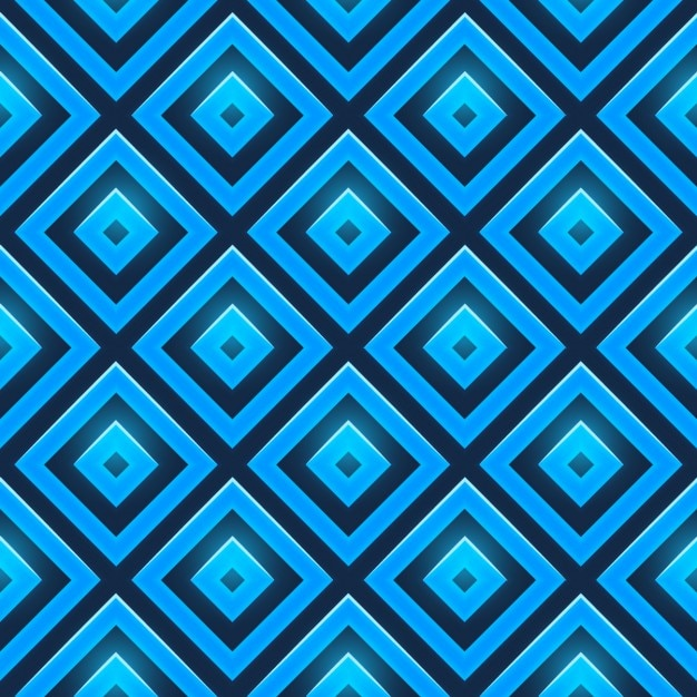 seamless blue diamonds pattern vector free download