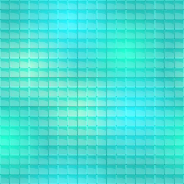 Seamless piastrelle blu pattern Vettore gratuito