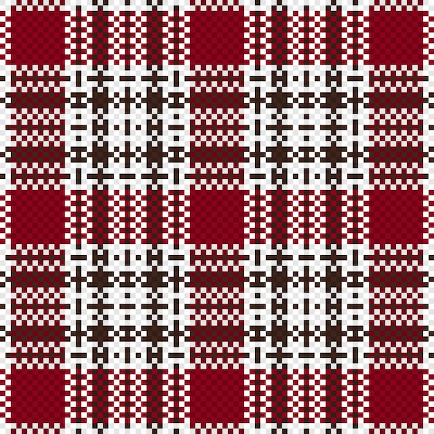 Seamless checkered pattern background. fabric texture. vector illustration. Premium Vector