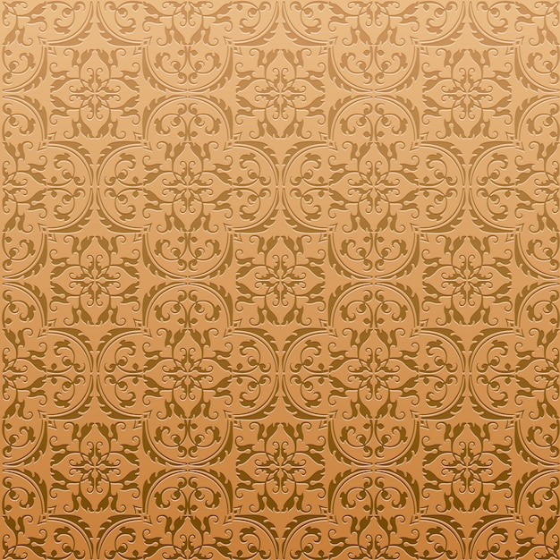 seamless damask background pattern design and wallpaper