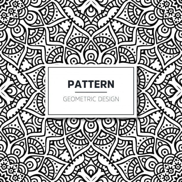 Seamless ethnic and tribal pattern Free Vector