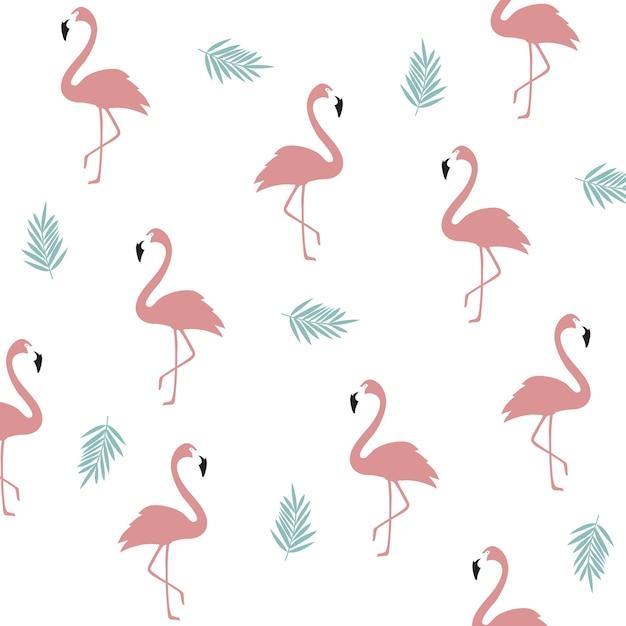 Seamless flamingo pattern background flamingo poster design seamless flamingo pattern background flamingo poster design wallpaper invitation cards textile print stopboris Image collections