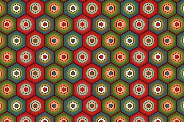 Seamless pattern geometrici groovy texture Vettore gratuito