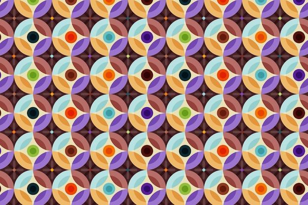 완벽 한 기하학적 그루비 패턴 질감 무료 벡터
