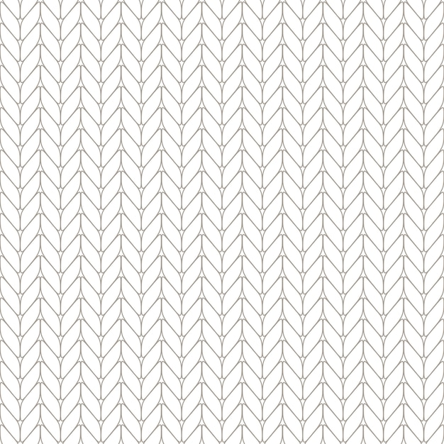 Seamless knitted background.  illustration Premium Vector
