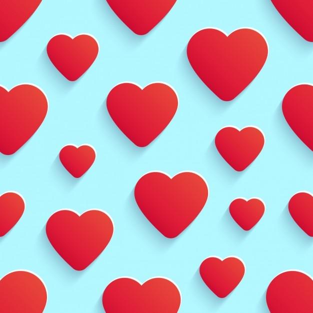 light blue heart background - photo #22
