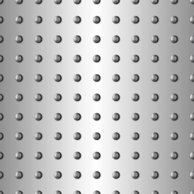 Seamless metal texture Premium Vector