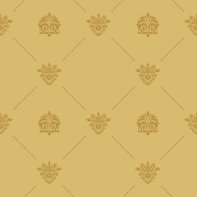 Seamless pattern decoration. decoration background abstract vintage.  flat Free Vector