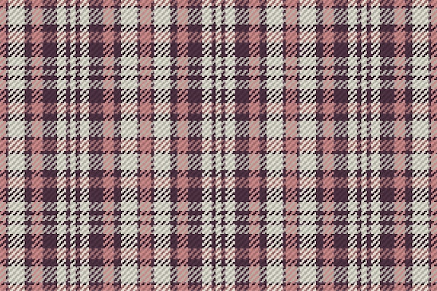 スコットランドのタータンチェック柄のシームレスパターン。チェック生地の質感と繰り返し可能な背景。 Premiumベクター