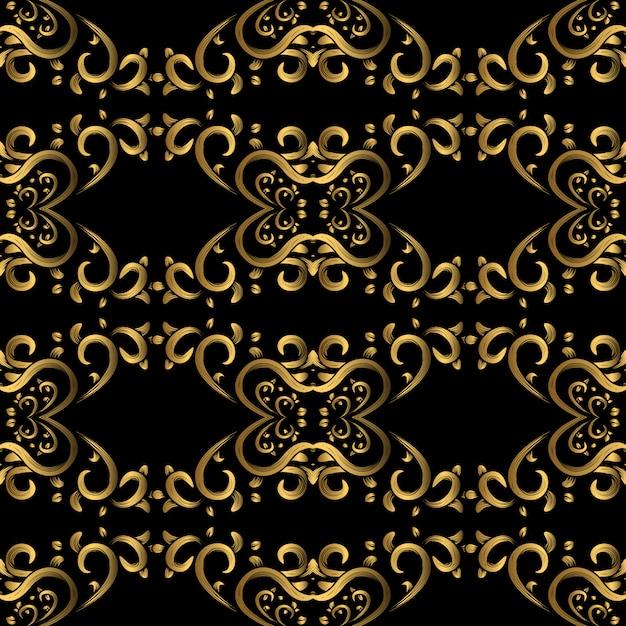 Seamless vintage pattern Premium Vector
