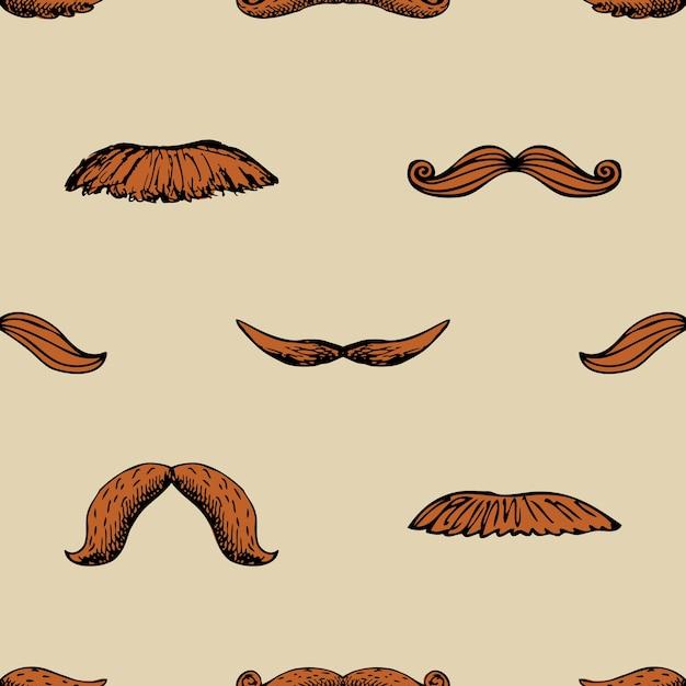 Seamless pattern vintage Vettore gratuito