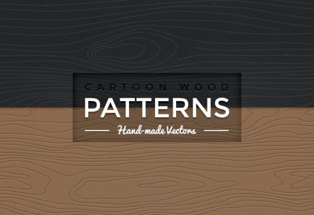 seamless wood vector patterns vector