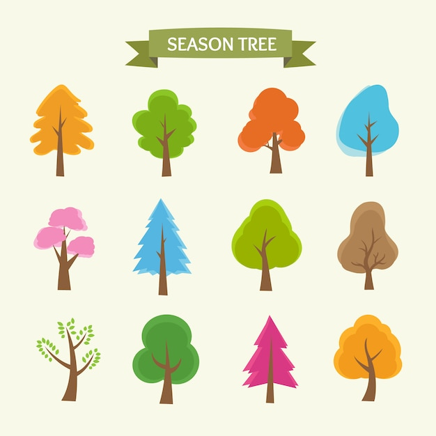 Season tree collection