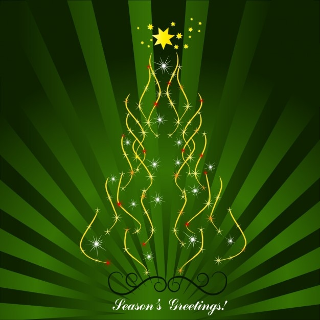 Seasons greetings card with xmas tree vector free download seasons greetings card with xmas tree free vector m4hsunfo