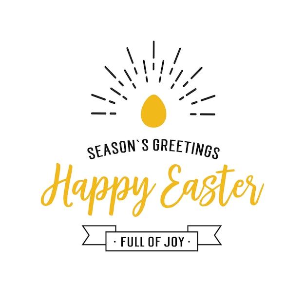 Seasons greetings happy easter lettering vector premium download seasons greetings happy easter lettering premium vector m4hsunfo