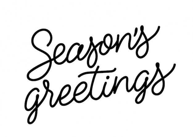 Seasons greetings inscription vector free download seasons greetings inscription free vector m4hsunfo